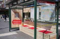 creative bus stops - Google Search