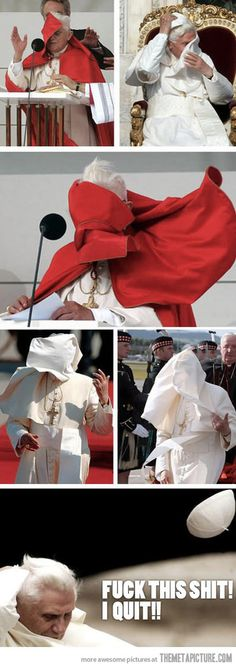 The real reason for the Pope's resignation…