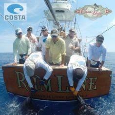 Costa Sunglasses College Ambassadors releasing a sailfish DOUBLE header! Guatemala, fishing lodge, charter boat #seewhatsoutthere
