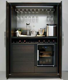 Modern home bar design ideas Diy Home Bar, Modern Home Bar, Mini Bars, Küchen Design, House Design, Design Ideas, Small Bars For Home, Kitchen Bar Design, Kitchen Bars