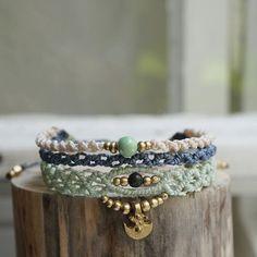 new favorite #bracelet #makrame #macrame #makramee #schmuck #makrameeschmuck #macrame #micromacrame #berlin #madeinberlin #madewithlove #handmade #handicraft #etsy #handgemacht #handmadejewelry #linhasita #sonya6000 #sonyalpha6000 #sommer #berlin365 #berlinfashion #hippiejewelry #hippie #gipsy #bohojewelry #mintgreen #mint #perlen #festivalseason #festivaljewelry