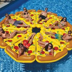 272af8aa4b Giant Pizza Slice Inflatable Pool Float