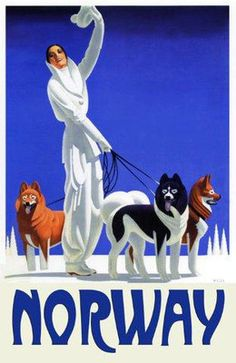 vintage travel poster Norway ¡¡¡¡¡¡¡......http://www.pinterest.com/beeegiii/travel-inspirations/ €¬€¬€¬€¬€¬€¬€¬€¬?¿?¿?¿?
