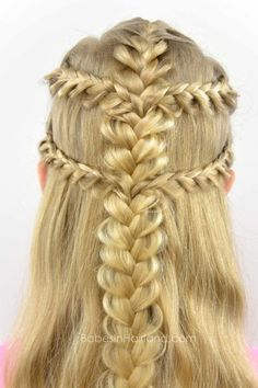 Viking Braids from BabesInHairland.com #braids #frenchbraids #hairstyle…