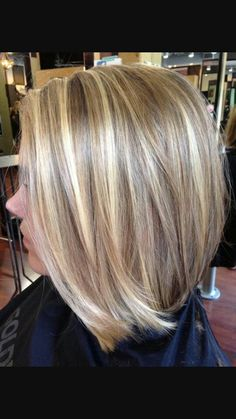 Blonde Highlights And Chocolate Golden Lowlights Soft