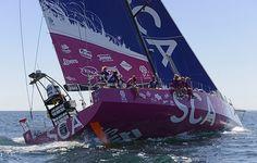Team SCA Volvo Oceanrace 2014-2015 Leg Zero start