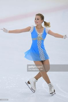 News Photo : Alisa Fedichkina of Russia competes in the...
