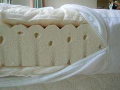 Como fazer um colchão futon How to make a futon mattress. The futon is the name given to a type of m Sofa Futon, Futon Bedroom, Futon Mattress, Sleeper Sofas, Mattresses, Leather Futon, Futons, Bricolage
