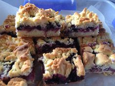 Apple and blueberry shortcake
