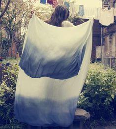 Silk Ombre Scarf by Miranda Bennett  on Scoutmob Shoppe