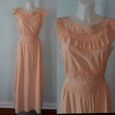 A personal favorite from my Etsy shop https://www.etsy.com/ca/listing/264529023/vintage-nightgown-vintage-nightgowns