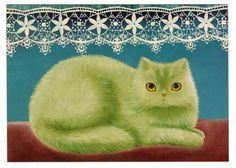 Кошки на картинах финской художницы Anna Hollerer. Комментарии : LiveInternet - Российский Сервис Онлайн-Дневников