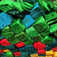 Bread in technicolor. #art #contemporaryart #miralda #bread #colors #igers #igersbarcelona @macba_barcelona