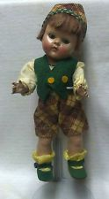 Vintage Vogue Ginny Doll  Sten (1952) # 37 Brother & Sister Series fever cheeks