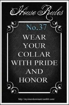 Image result for house rules bdsm