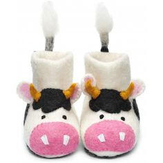 How sweet are these little slippers!