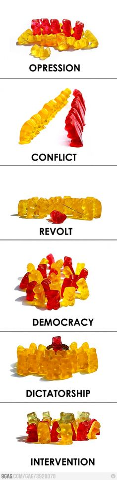 Political Gummy Bears - what's not to love!
