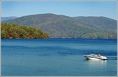 Lake Jocassee in Salem, SC.  One of our FAVORITE vacation spots!