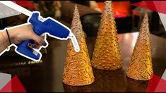 ✨Pinos Metálicos con mucho Brillo!✨ ChuladasCreativas ✨Rust-Oleum Navidad Birthday Candles, Diy Crafts, Crafty, Christmas, Youtube, Google, Christmas Table Centerpieces, Christmas Ornaments, Holiday Ornaments