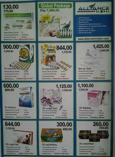 Products of Aim Global.