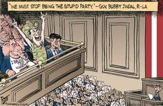 "From the ""Party of No"" to the ""Party of Stupid"" ~ Cagle Post » Daily Cartoons"