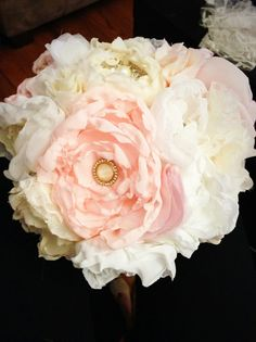 DIY Tutorials: DIY Fabric Wedding Bouquet