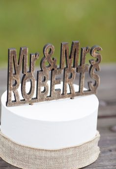 How convenient, ill just take the model Wedding Events, Wedding Reception, Our Wedding, Dream Wedding, Wedding Cake Rustic, Wedding Cakes, Rustic Cake Toppers, Wedding Inspiration, Wedding Ideas