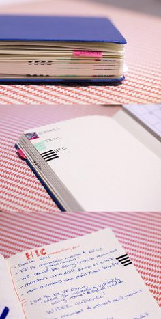 Using washy tape for category indexing - Bullet Journal Joy