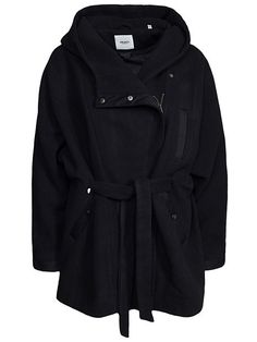 Objcar Coat 80 - Object - Musta - Takit - Vaatteet - Nainen - Nelly.com
