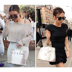 750763070b3e 0 Cloth Bags, Hot Outfits, Birkin, Victoria Beckham, Kim Kardashian, Fashion