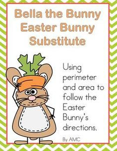 Here's an Easter themed activity on finding area and perimeter.