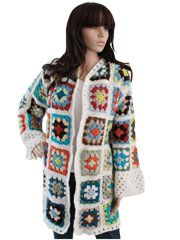 Granny Square Coat Pattern Pack - Electronic Download