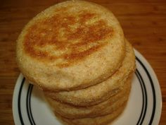 The Tiny Skillet: Whole Wheat English Muffins