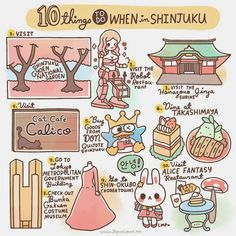 Varietats: 10 Things to do... by Japan Lover