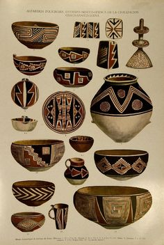 Imagen relacionada Pottery Painting Designs, Pottery Designs, Ceramic Painting, Ceramic Art, Ceramic Pottery, Pottery Art, Repetition Art, Home Decor Vases, Jar Art