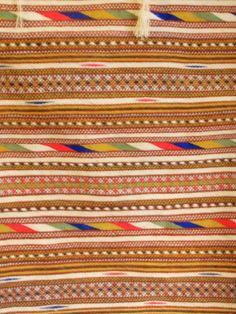 Variante del tappeto di Orune con diversa fantasia rispetto al tipico disegno!