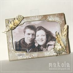 photo frame   made by Makola