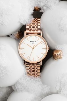 The new Tissot Everytime in Rose Gold is everything.