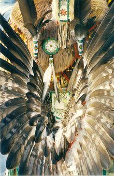 Native American Traditional  Regalia Art by Tobyotter, via Flickr