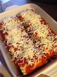 21 Day Fix Lasagna Roll Ups