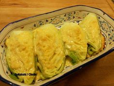 Recipe: Baked pointed cabbage More food recipes Healthy Eating Tips, Easy Healthy Dinners, Clean Eating Recipes, Easy Healthy Recipes, Baby Food Recipes, Beef Recipes, Cooking Recipes, Healthy Food, Baked Cabbage