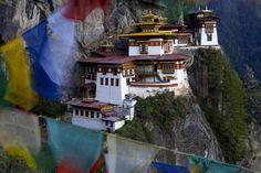 Taktshang Goemba, Paro Valley - Bhutan