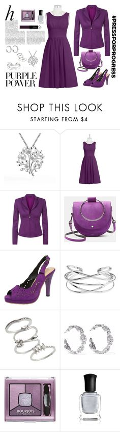 """Passion for Purple"" by pheonix-dt ❤ liked on Polyvore featuring La Perla, Theory, Whiteley, Topshop, Kenneth Jay Lane, Bourjois, Deborah Lippmann, Guerlain, purplepower and internationalwomensday"