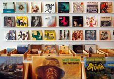 Spinster Records in Dallas, Texas.