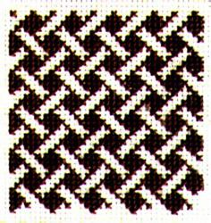 A web site of resources for stitchery enthusiasts providing decorative patterns and designs for needlepoint, cross-stitch and other forms of decorative stitching. Fair Isle Knitting Patterns, Knitting Charts, Weaving Patterns, Knit Patterns, Cross Stitch Patterns, Bargello Needlepoint, Needlepoint Stitches, Embroidery Stitches, Needlework