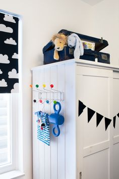 stylestek.nl_evabloem-fotografie_baby boy room-nout #babyboyroom #colours #diy #clouds