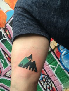 25 breathtaking mountain tattoos that flat out rock for Asheville nc tattoo