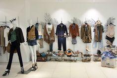 visual merchandising for department store.Interior Design.Exhibition Design.