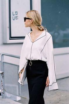 Comment porter : Le style pyjama en journée. FashionDRA