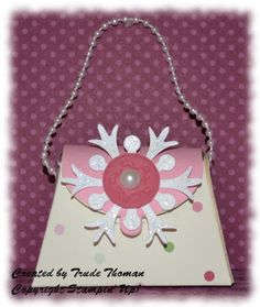 Stampin' Up! Petite Purse made with Be of Good Cheer Designer Series Paper.